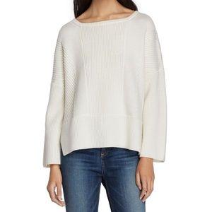 Rag & Bone Dee Pullover Sweater in Ivory Size XS